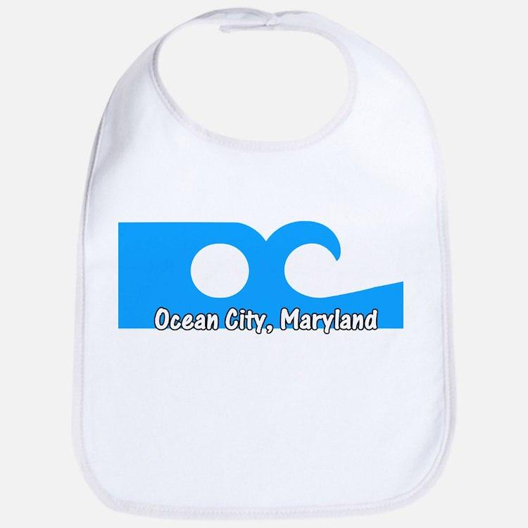 Ocean City Flag Bib