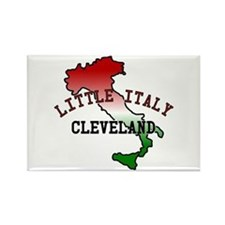 Little Italy Cleveland Rectangle Magnet