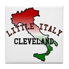 Little Italy Cleveland Tile Coaster