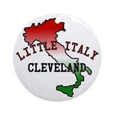 Little Italy Cleveland Ornament (Round)