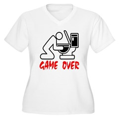 Game Over Puking T-Shirt