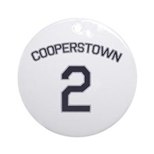 #2 - Cooperstown Ornament (Round)