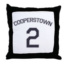 #2 - Cooperstown Throw Pillow
