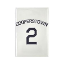 #2 - Cooperstown Rectangle Magnet