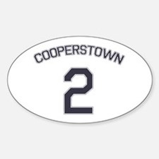 #2 - Cooperstown Oval Decal