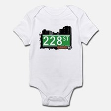 228 STREET, QUEENS, NYC Infant Bodysuit