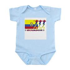 Ecuador soccer Infant Creeper