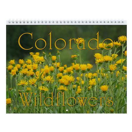 Colorado Wildflowers Vol 2 Wall Calendar