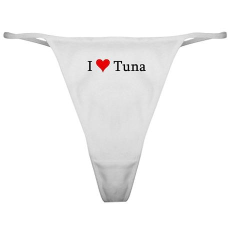 I Love Tuna Classic Thong