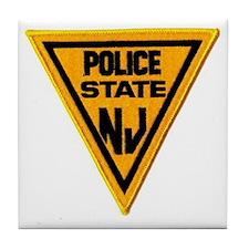 Cute State police Tile Coaster
