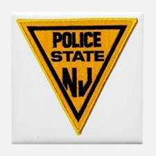 Cute State police Tile Coaster