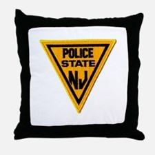 Cute State police Throw Pillow