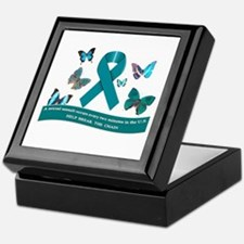 Unique Sexual assault awareness month Keepsake Box