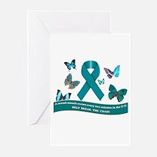 Cute Sexual assault awareness Greeting Cards (Pk of 10)