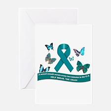 Cool Sexual assault awareness Greeting Card