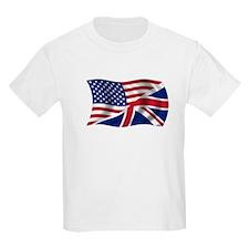 US UK Flag T-Shirt
