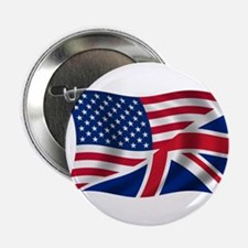 "US UK Flag 2.25"" Button"