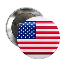 "American Flag (Stars and Stri 2.25"" Button"