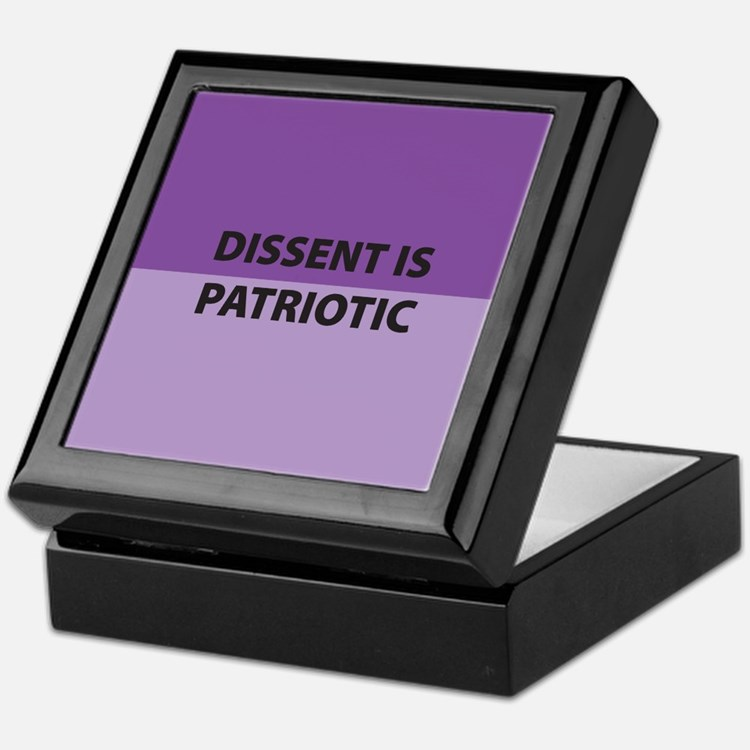Dissent Keepsake Box