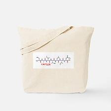 Caitlin name molecule Tote Bag