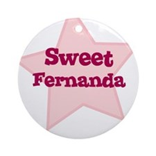Sweet Fernanda Ornament (Round)