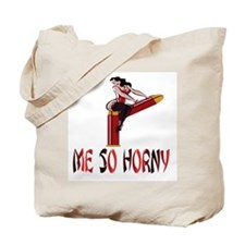 ME SO HORNY Tote Bag