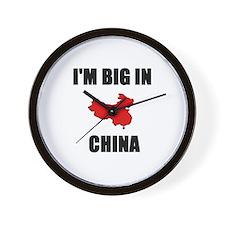 Cool Hong kong Wall Clock