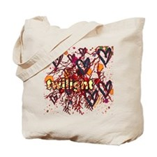 Twilight Hearts Tote Bag