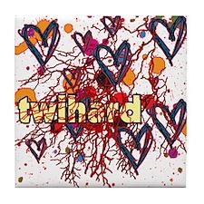 Twilight Twihard Tile Coaster