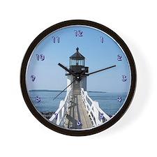 Lighthouse Breakwater Clock