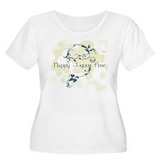 happy3 Plus Size T-Shirt