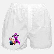 Breast Cancer Awareness, Rosie the Riveter Boxer S