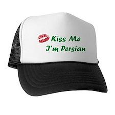 Kiss Me I'm Persian Trucker Hat