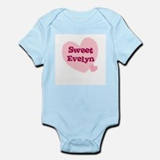 Sweet Evelyn Infant Creeper
