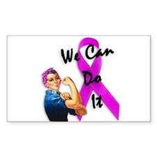 Breast Cancer Awareness, Rosie the Riveter Decal
