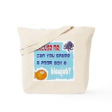 Excuse me, Tote Bag