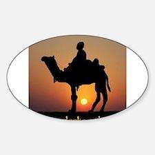 DERKA DERKA DERKA Oval Sticker (10 pk)