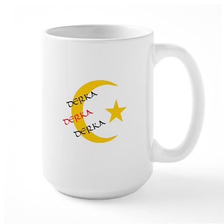 DERKA DERKA DERKA Large Mug