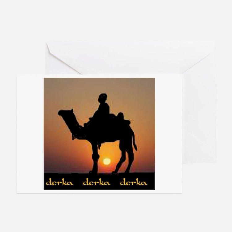 DERKA DERKA DERKA Greeting Cards (Pk of 10)