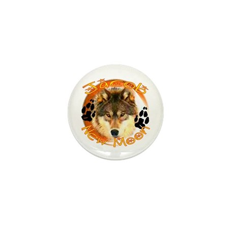 Jacob ~ New Moon ~ Golden Mini Button