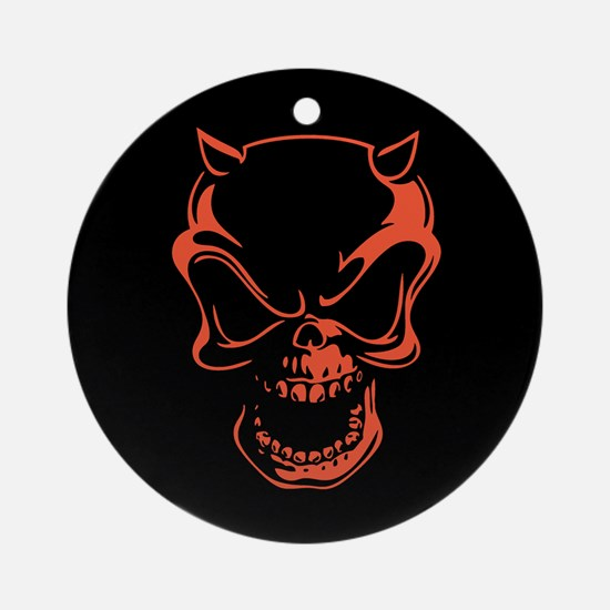 sk508-red Ornament (Round)