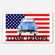 GRANDPA CAR Rectangle Decal