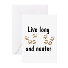 Live Long Greeting Cards (Pk of 10)