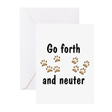 Go Forth Greeting Cards (Pk of 10)