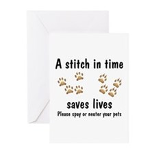 A Stitch In Time Greeting Cards (Pk of 10)