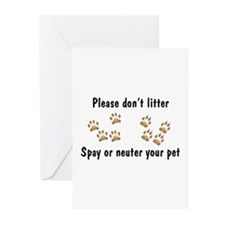 Don't Litter Greeting Cards (Pk of 10)