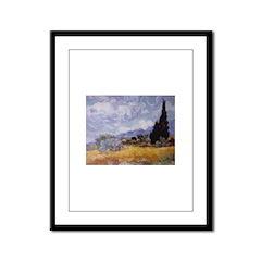 VAN GOGH Framed Panel Print