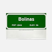 Bolinas Rectangle Magnet
