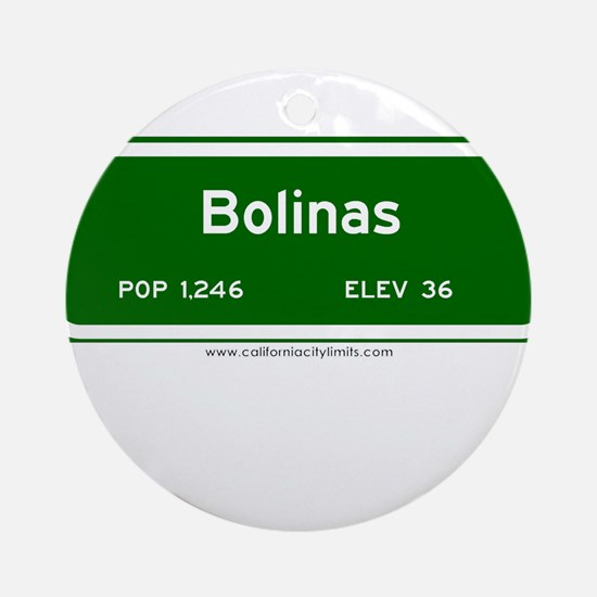Bolinas Ornament (Round)