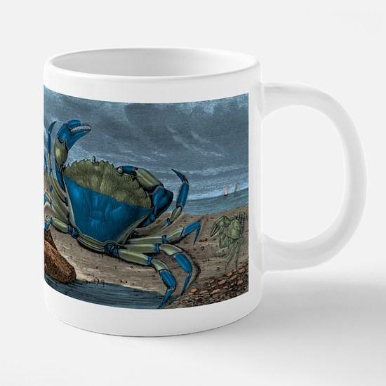 Blue Crabs 20 oz Ceramic Mega Mug